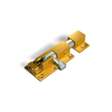 Шпингалет дверной Apecs DB-05-80-G (500-80-BP)