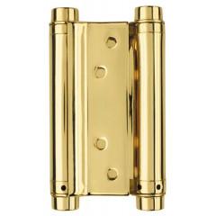 Петля пружинная двусторонняя DAS SS 201-5 (125*86*1.5) GP Золото