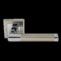 Ручка дверная Нора-М AL 108K AL (матовый хром)