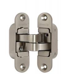 Петля скрытой установки с 3D-регулировкой Architect 3D-ACH 40 SN Матовый никель лев. 40 кг