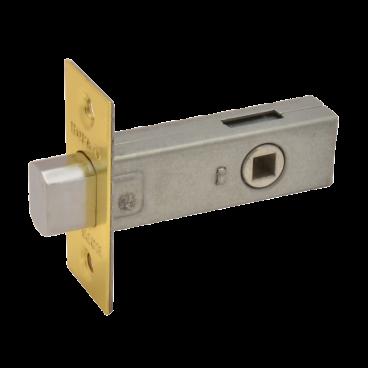 Задвижка дверная Нора-М 3-45 (мат.латунь)