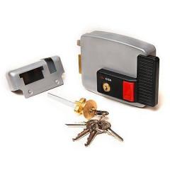 Замок накладной электромеханический Cisa 11.630.60.2 (тип 2) ключ, кнопка, лев. откр. двери внутрь