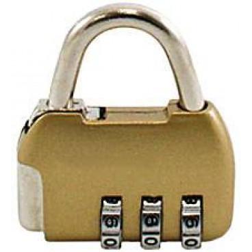 Замок навесной кодовый Аллюр ВС1К-35/4 (золото)