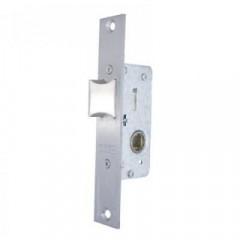 Защелка врезная для метал. дверей TESA 221528AI (нержавеющая сталь)