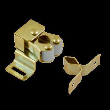Защёлка роликовая Нора-М №1 (34мм) (золото)