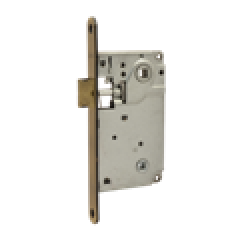 Защелка межкомнатная Нора-М 13-90 мм (ст.бронза) под фиксатор б/о