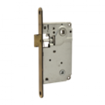 Защелка межкомнатная Нора-М 13-90 мм (золото) под фиксатор б/о