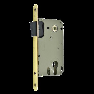 Защелка межкомнатная Нора-М магнит. М 25М-85 мм (золото) под цилиндр